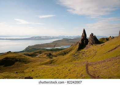 Old Man of Storr, Isle of Skye,Scotland