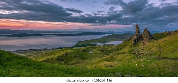 Old Man of Storr , Trotternish Peninsula , Isle of Skye , Scotland , United Kingdom