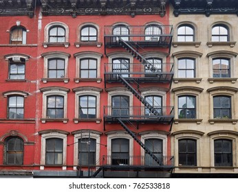 old Manhattan apartment buildings
