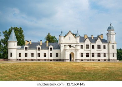 Old manor house (1876-1885), know as Alatskivi Loss. Alatskivi, Estonia, Baltic States, Europe