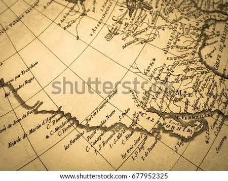 West Coast Of America Map on