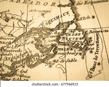 Old Map Canada · St. Lawrence Bay