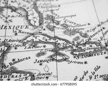 Old Map Latin America