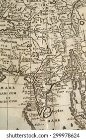 Old maps Asia