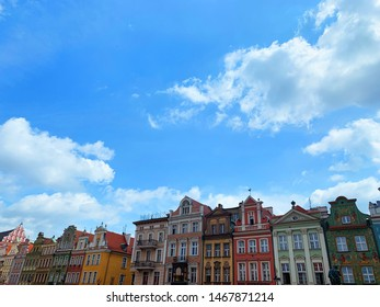 The Old Market Square, Stary Rynek, in Poznan, Poland, is the large square on which the Old Town neighbourhood is centred. These brightly coloured houses form a wonderful view. VSCO a4 preset