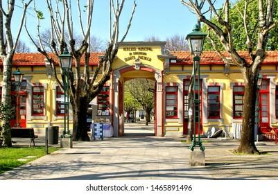 Old market in Vila do Conde, Portugal
