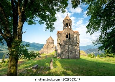 Old medieval Armenian monastery in Haghpat, Armenia
