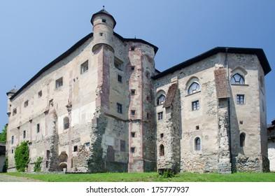 Old medieval castle in Banska Stiavnica, Slovakia