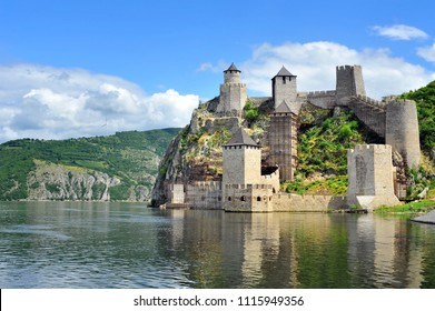 Old medieval fortification Golubac, Serbia