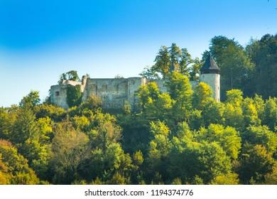 Old medieval fortress in Novigrad, Karlovac county, Croatia