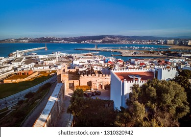 The old medina and the port of Tangier, Morocco