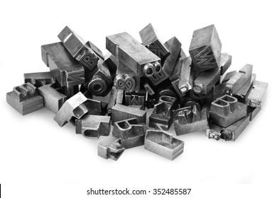 Altmetall-Briefpresse