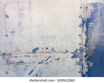 Old metal texture with rivets and worn paint (colour)