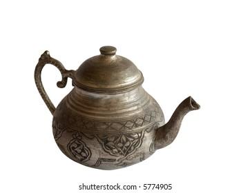 Old Metallic Tea Pot