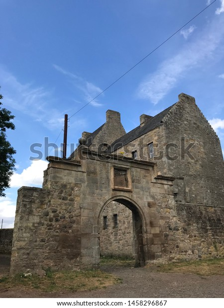 Old Midhope Castle in Scotland. Also Lallybroch in the Outlander Series.