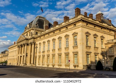 The old military academy in Paris