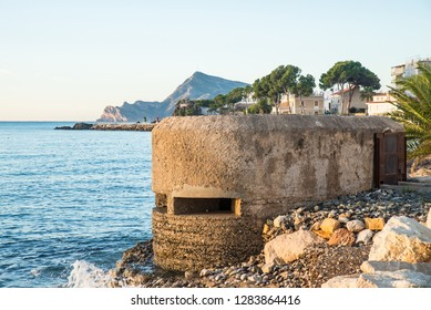 Old military bunker from the Spanish Civil War