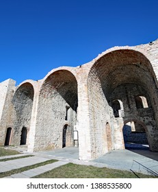 old military fort of World War I called Forte Interrotto in Asiago Town in Veneto Region in Italy