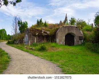 An old military hobbit bunker, shot in historic Vallisaari, Helsinki, FInland. This is what it would look like if the hobbits of the shire were more warlike.