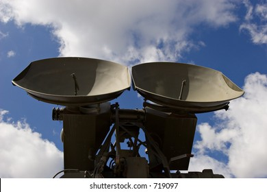 Old military radar
