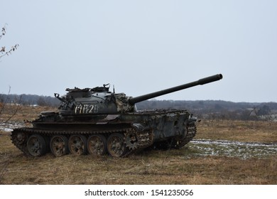 old military tank, heavy battle armor, a cannon machine