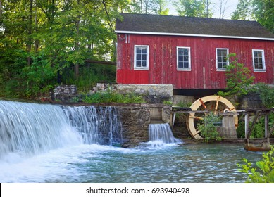 Old Mill at Decew Falls in Short Hills Provincial Park, St. Catharines, Ontario, Canada.