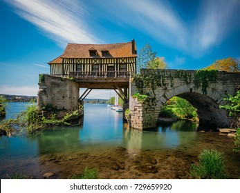 The Old mill on the broken bridge, Vernon, Normandy, France