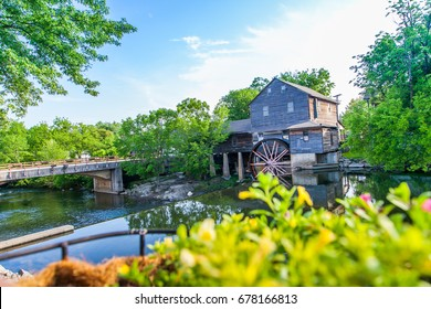 Old Mill in Pigeon Forge - Smoky Mountains area ,Tennessee USA.