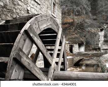 Old mill-wheel