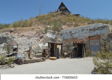 Old Mine Museum In Oatman, June 22, 2017. Route 66, Oatman. Arizona USA, EEUU.