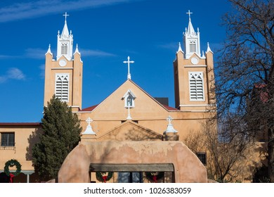 Old Mission Church, Albuquerque New Mexico.