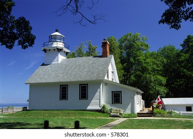 Old Mission Lighthouse on Grand Traverse Bay.