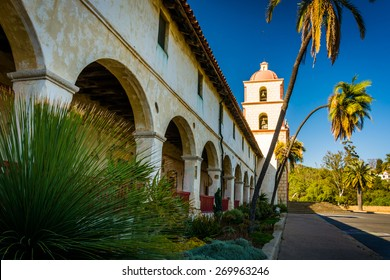 Old Mission Santa Barbara, in Santa Barbara, California.