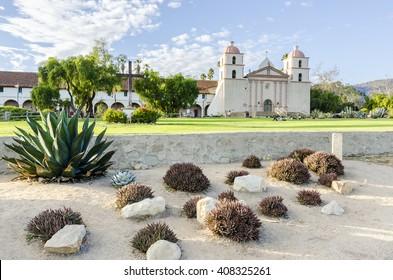 Old Mission Santa Barbara. California. USA.
