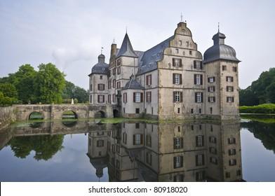 old moated castle Haus Bodelschwingh in Dortmund