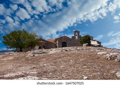 The old Monastery of Voulkano, in Messinia prefecture, Greece. It was most probably built in the beginning of the 8th century by iconodule monks. Today it is called Katholikon.