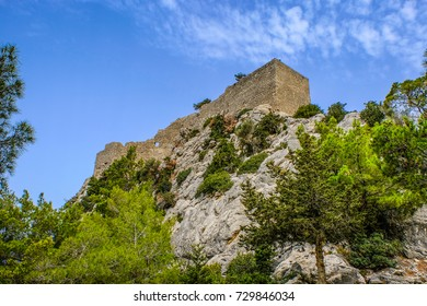 old Monolithos fortress on the Rhodes Island