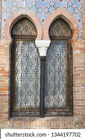 Old moroccan windows