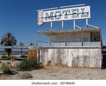 Old Motel on the Salton Sea