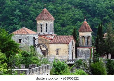 Old Motsameta monastery near Kutaisi, Georgia