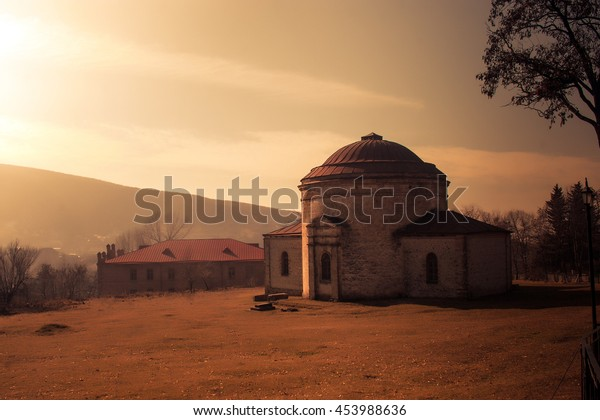 Old museum in Shaki province of Azerbaijan