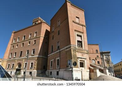 Old Mussolini buildings in Foggia