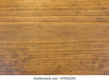 Old Natural Wood Grain Background Without Knots