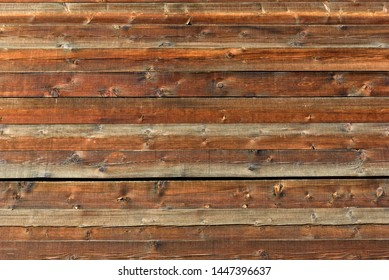 Old natural wooden brown shabby background close up