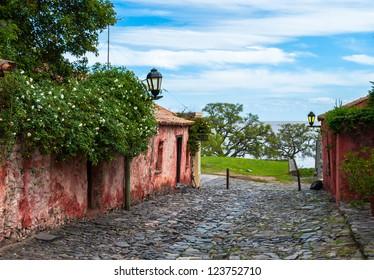 Old neighborhood in Colonia del Sacramento, Uruguay