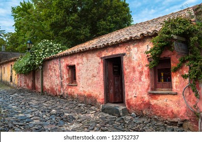 Old neighborhood in Colonia del Sacramento, Uruguay