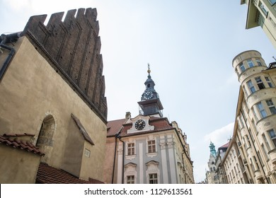 Old new synagogue of Prague