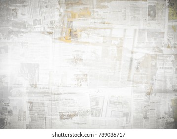 OLD NEWS PAPER BACKGROUND, SCRATCHED PAPER TEXTURE
