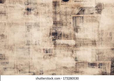 OLD NEWSPAPER ABSTRACT BACKGROUND