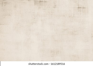 OLD NEWSPAPER BACKGROUND,  BEIGE GRUNGE PAPER TEXTURE, BLANK TEXTURED NEWSPRINT PATTERN, SPACE FOR TEXT